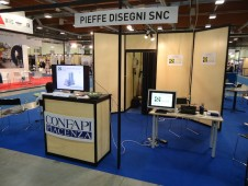 The Pieffe Disegni corner at Expolaser 2013